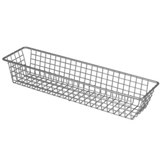 "Spectrum Diversified 17477 3"" X 12"" Stainless Steel Grid Tray Organizer"
