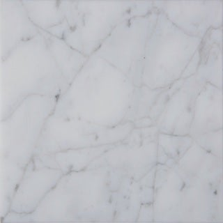 italian White Carrara Venato Tiles