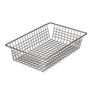 "Spectrum Diversified 17777 6"" X 9"" Stainless Steel Grid Tray Organizer"