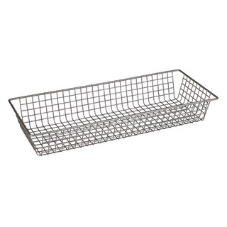 "Spectrum Diversified 17877 6"" X 15"" Stainless Steel Grid Tray Organizer"