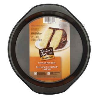 Bakers Secret 1114439 Baker's Secret® Round Cake Pan- 9 inch