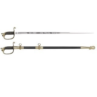 Cold Steel Left Handed US Naval Sword with Ray Skin Handle