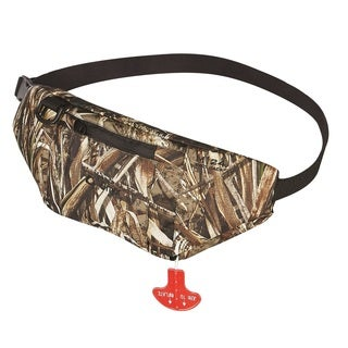 Onyx Outdoor M-24 Manual Inflatable Belt Pack in Realtree Max