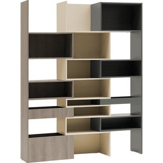 Voelkel Lori Collection Expanding Bookcase