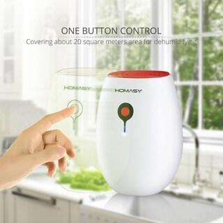Patuoxun Auto Shut-off Ultra-mini Semiconductor 14-ounce Per Day Dehumidification Capacity Dehumidifier Air Dryer