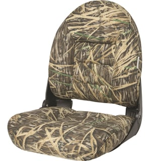 Tempress NaviStyle Mossy Oak Shadowgrass Vinyl High-back Seating System