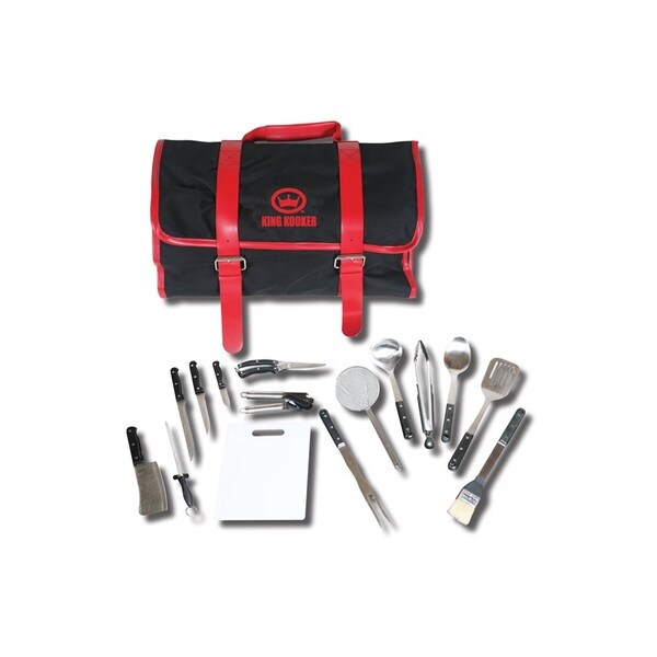 King Kooker 16-piece Tailgating Utensil Set