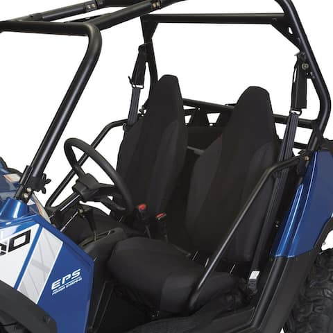 Classic Accessories Black Polyester UTV Bucket Seat Cover