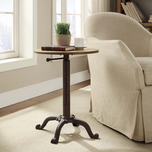 Shop Boden Adjustable Vintage Accent Table