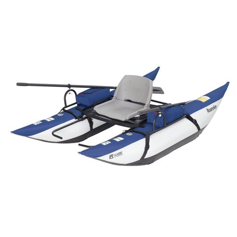 Classic Accessories 32-048-010601-00 Roanoke Pontoon Boat, Blueberry