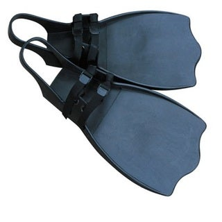 Classic Accessories Black Rubber High Thrust Step-in Watercraft Fins