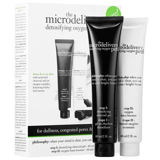 Philosophy The Microdelivery Detoxifying Oxygen Peel 2-piece Skincare Set