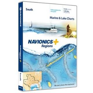 Navionics+ South Region MSD/NAV+SO Marine and Lake Fish Finder Charts