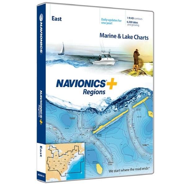 Navionics+ Regions-East Region MSD/NAV+EA
