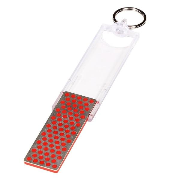 DMT Mini-Sharp Red Steel Fine Grit Pocket Sharpener