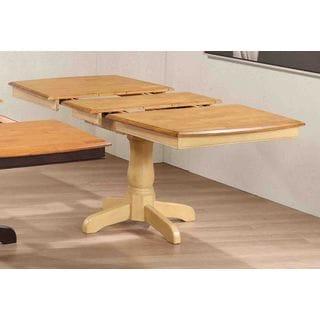 Iconic Furniture 5-piece Ladder-back Honey Sand 36 x 52 x 67-inch Boat-shape Dining Set