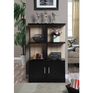 Convenience Concepts Key West Console Bookcase With Cabinet
