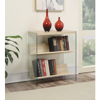 Porch & Den Bywater Urquhart Glass/Wood Bookcase