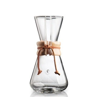 Chemex Clear Glass Classic 3-cup Coffeemaker