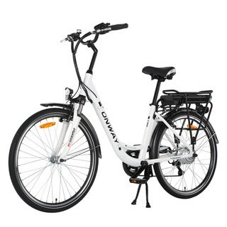 Onway Woman City Aluminum 26-inch 6-speed Electric Bicycle