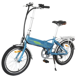 Onway 20-inches 6-peed Folding Electric Bicycle With Built-in Lithium Battery
