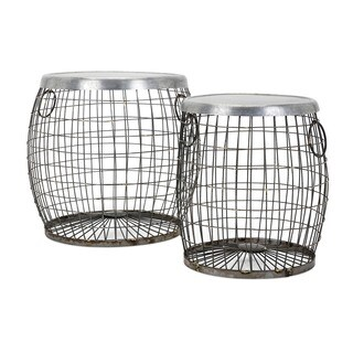 Balaz Wire Tables (Set of 2)