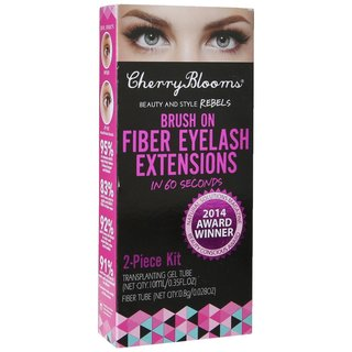 Cherry Blooms Eyelash Extensions Brush On Fiber Lashes