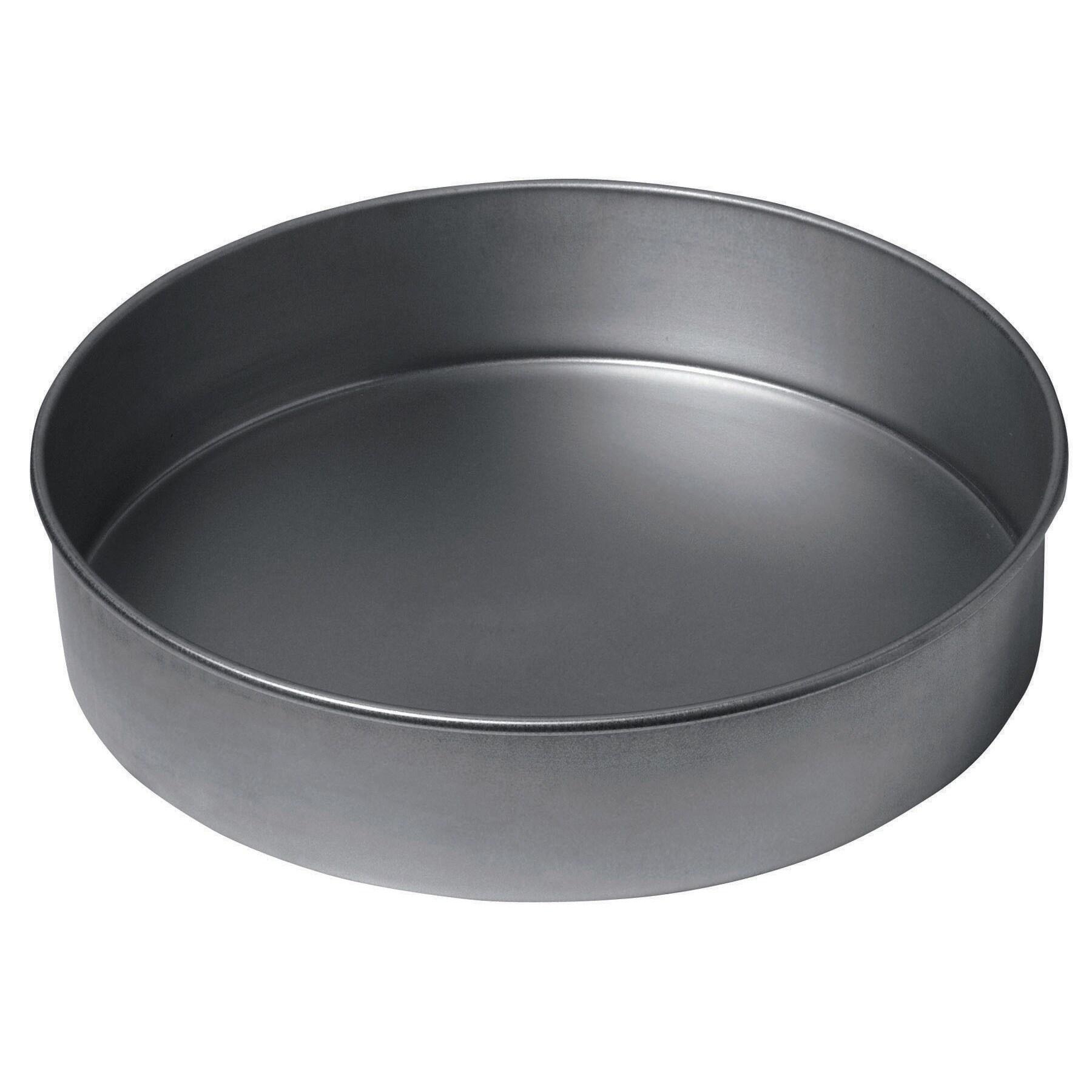 "Chicago Metallic Grey) 16629 9"" Chicago Metallic Round Ca..."