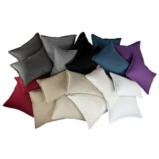Sherry Kline Lombard Linen Reversible Combo Throw Pillow