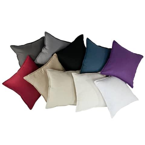 Sherry Kline Lombard Linen Reversible 20-inch Decorative Throw Pillow (set of 2)