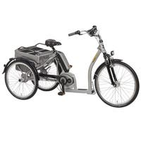 PFIFF Grazia Electric 24 and 26 inch Wheels Bosch Motor Adult Tricycle - Silver