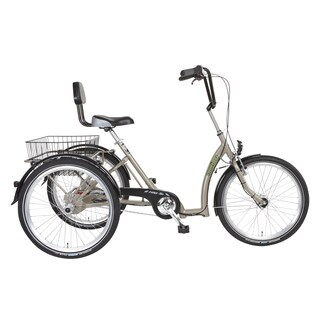 PFIFF Comfort Adult Tricycle, 24 inch wheels, Pearl