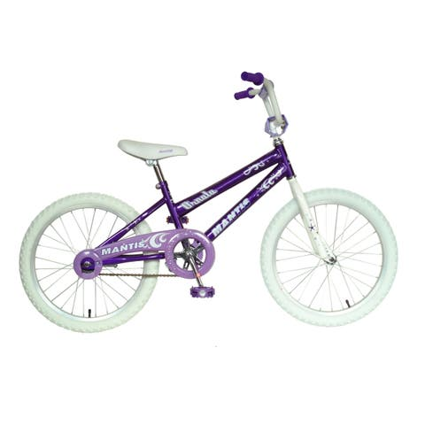 Mantis Ornata Girls' Purple 20-inch wheels 12-inch frame Girl's Bike