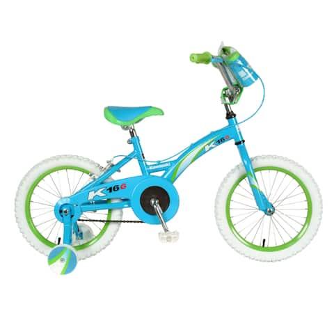 Kawasaki Girl's Blue Metal BMX Bicycle