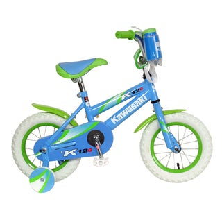 Kawasaki K12G Green Kids' 12-inch Wheels 8-inch Frame Bicycle