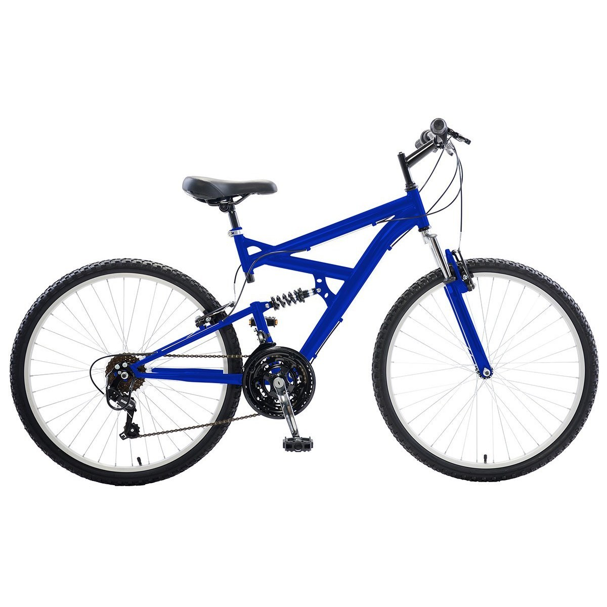 Dual Suspension Mountain Bike >> Cycle Force Dual Suspension 26 Inch Wheels 18 Inch Frame Men S