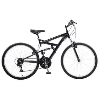 Cycle Force Dual Suspension 26-inch Wheels 18-inch Frame Men's Mountain Bike|https://ak1.ostkcdn.com/images/products/12589290/P19386642.jpg?impolicy=medium