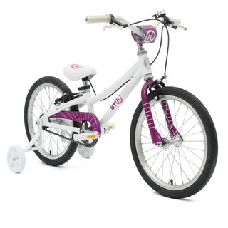 ByK E-350 Kids' Alloy Bike with 18-inch wheels and 8.5-inch frame (Option: Purple)