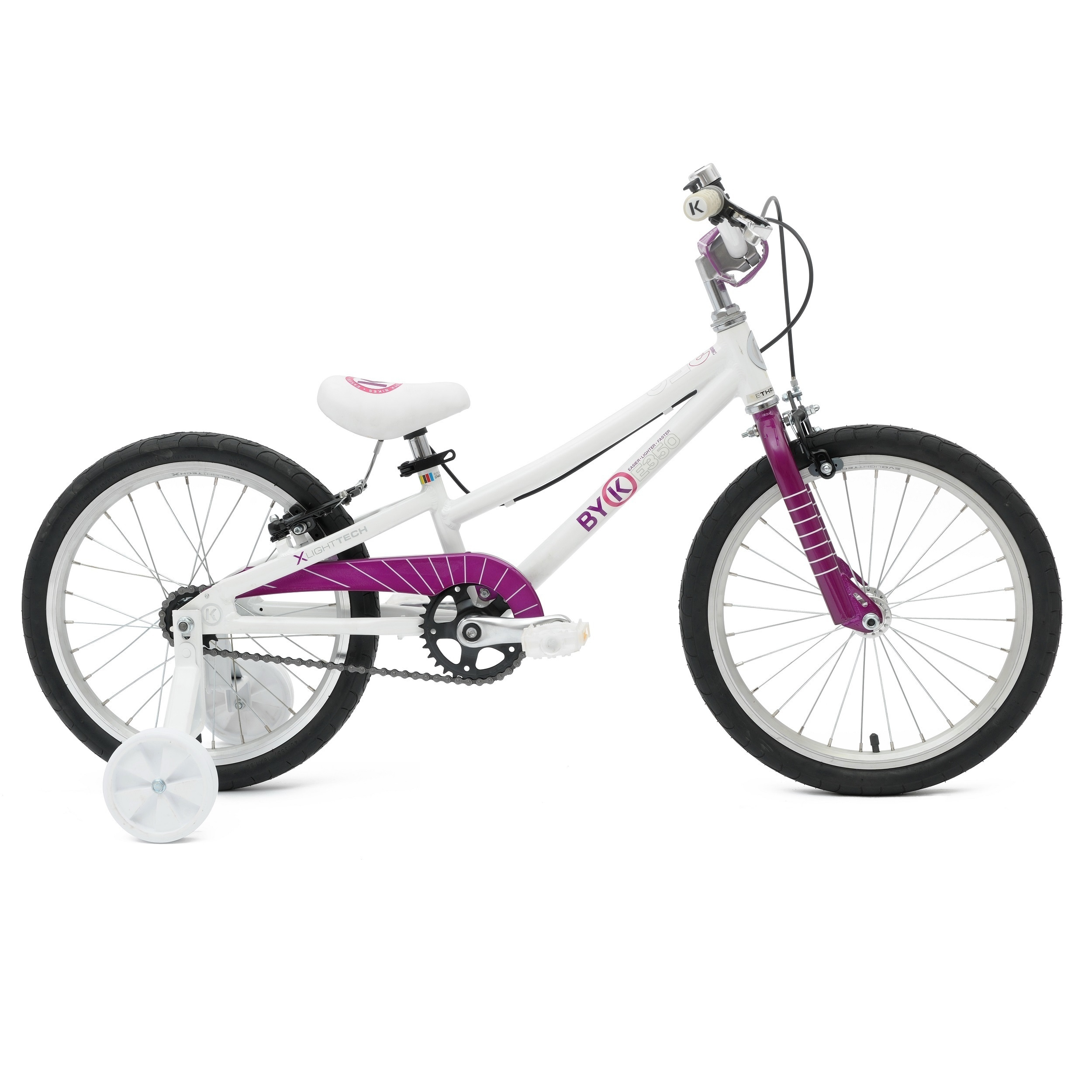 ByK E-350 Kids' Alloy Bike with 18-inch wheels and 8.5-in...