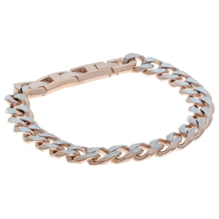 Stainless Steel Curb Chain Bracelet