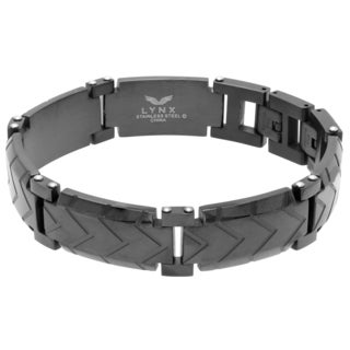 Stainless Steel Blackplated Men's Bracelet