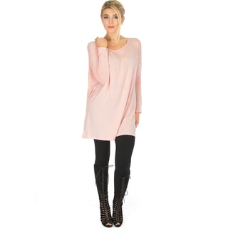 Wherever Whenever Long-Sleeve Tunic Top