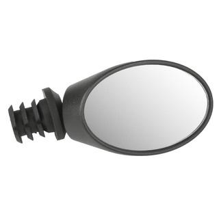 Ventura Spy Black Plastic/Rubber Oval Bicycle Mirror