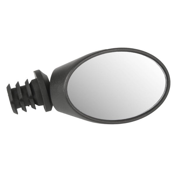 Ventura Spy Black Plastic/Rubber Oval Bicycle Mirror