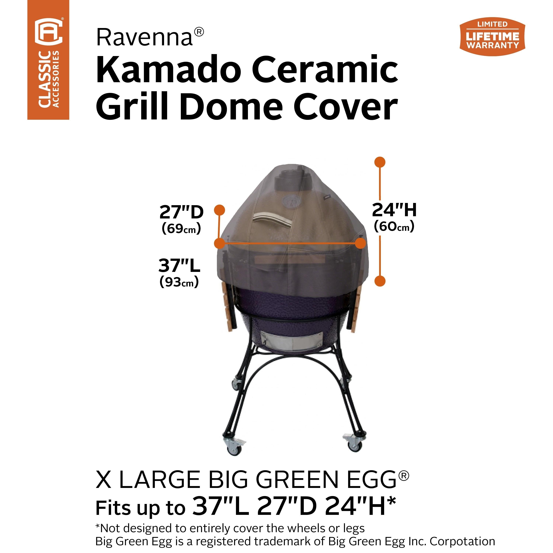 Large Classic Accessories 55-418-045101-EC Ravenna Ceramic Grill Dome Cover