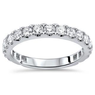 Noori 18k Gold 1ct TDW Round Diamond Wedding Band Ring