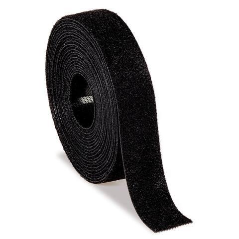 """3M RF3740 12' X .75"""" Black Scotch Bundling Wrap"""