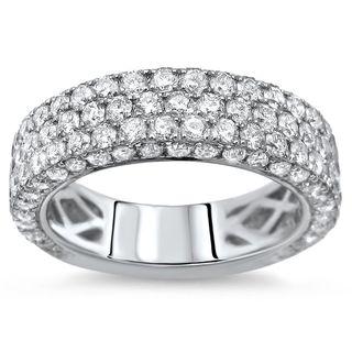 Noori 14k Gold 2 5/8ct TDW Round Diamond Wedding Band Ring