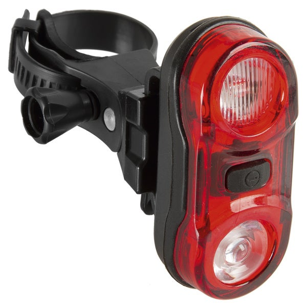 Ventura Helios 2.3 Red/Black Plastic Taillight