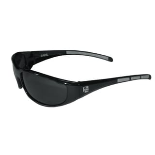NHL Sports Team Logo Los Angeles Kings Wrap Sunglasses